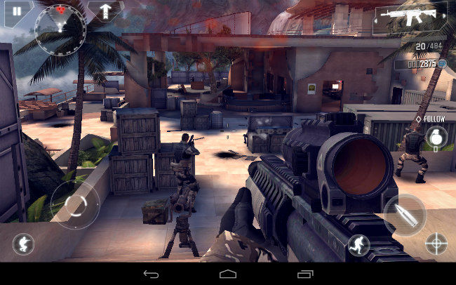 The 10 Best First Person Shooter Fps Games For Android Digit In