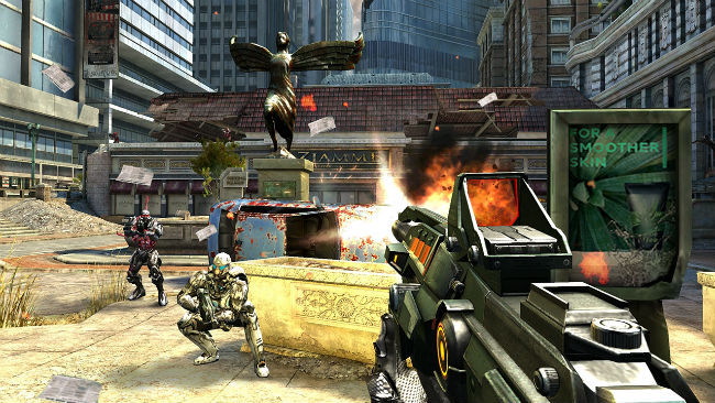 gry fps android multiplayer