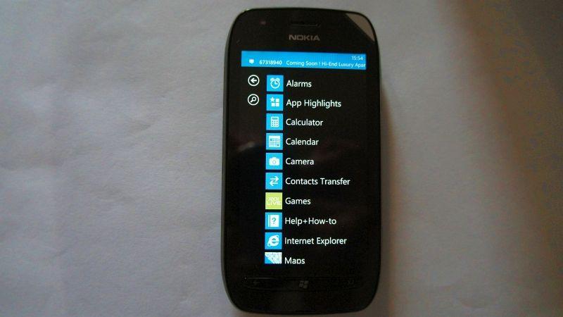 Hands on: Nokia Lumia 710