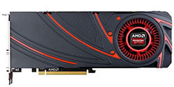 R9 290X Front view table