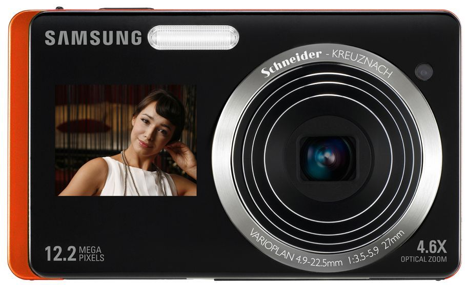 Samsung ST550 ST500 dual screen digital camera
