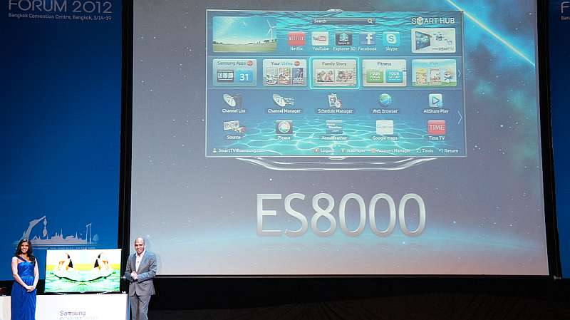 Samsung Forum 2012: Samsung rolls out a new range of Smart