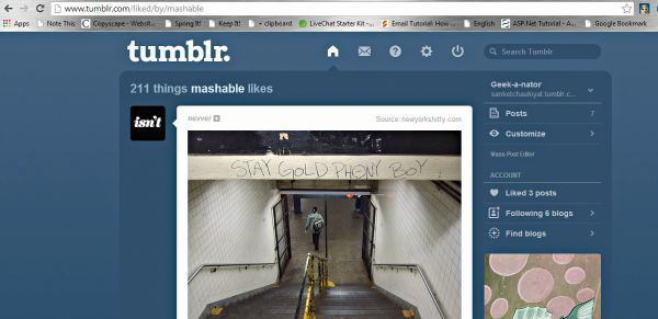 How to use Tumblr efficiently