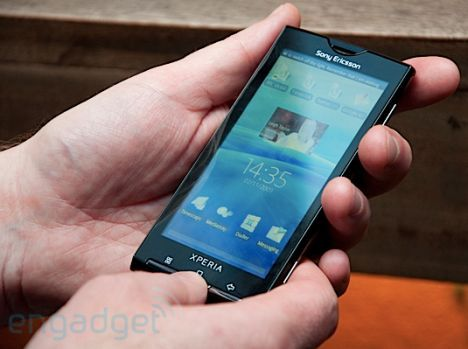 Sony Ericsson Xperia X10 with new UX interface is the most ...
