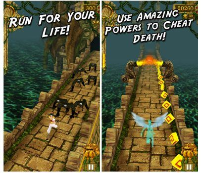 Temple Run hits Windows Phone alongside Gravity Guy 2 and