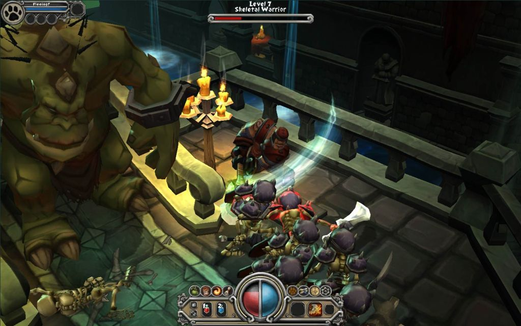 Torchlight demo