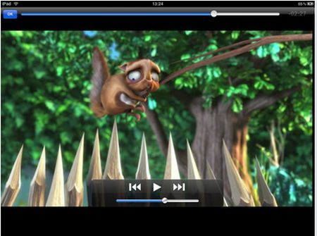 VLC iPad Screenshot