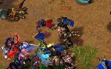 Warcraft III archers