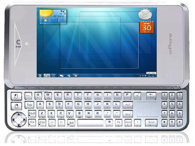 Windows 7 phone – ITG xpPhone running Windows 7
