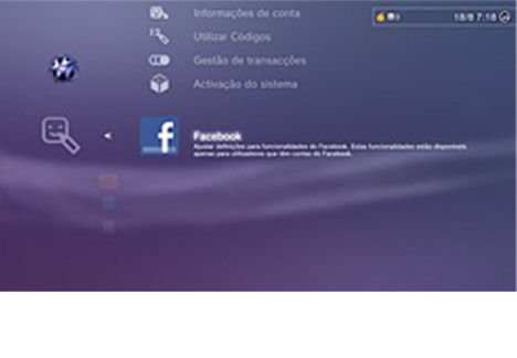 Facebook on PS3