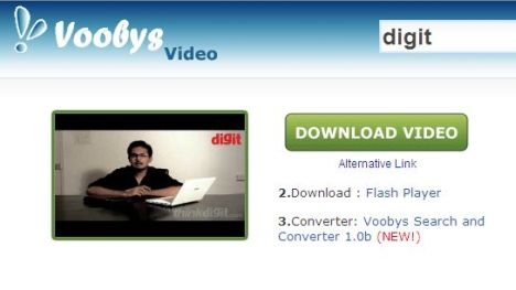 Download videos with voobys