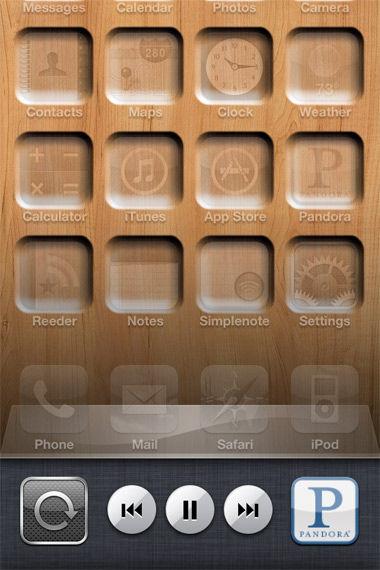 iPhone iPod Controls