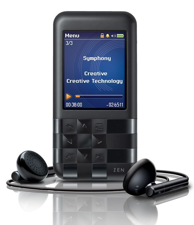 creative launches zen mozaic ez300 mp3 player in india. Black Bedroom Furniture Sets. Home Design Ideas