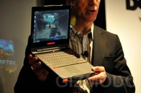Dell launches the Alienware M11x