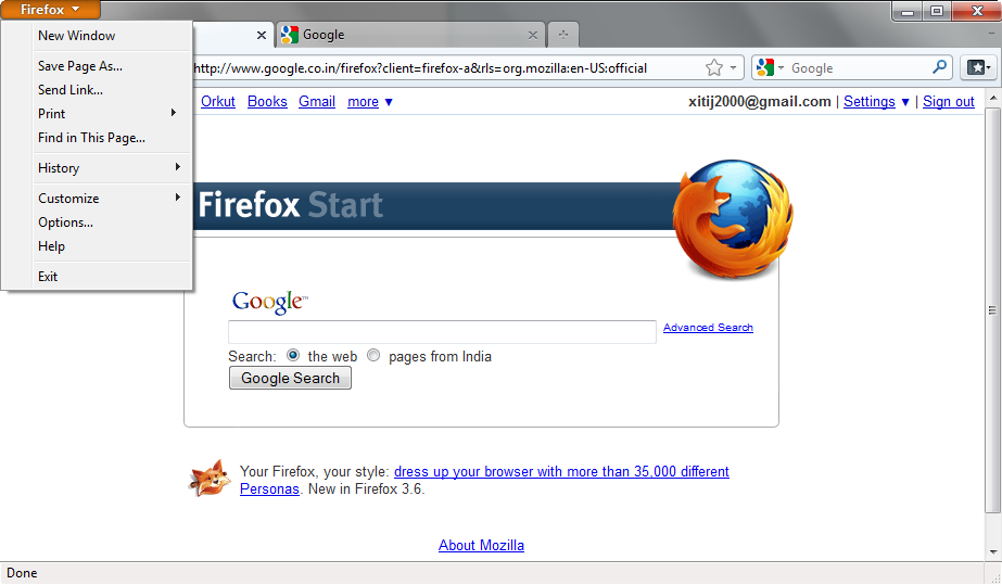 Firefox 4 UI