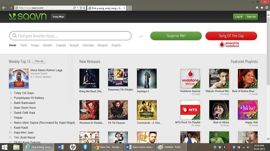 Saavn com Music Streaming Service Review