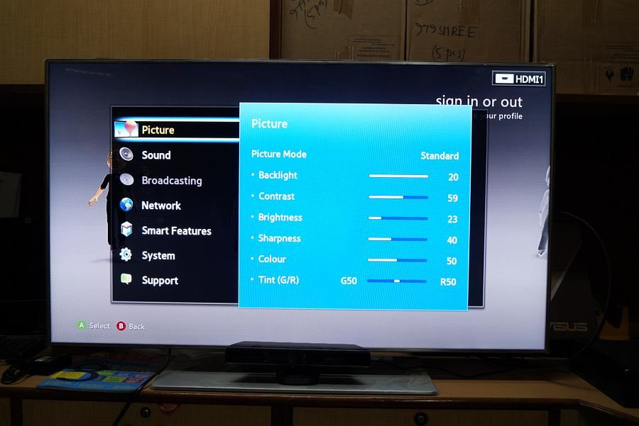 Samsung 7500 smart tv ua46f7500 review for Samsung smart tv living room