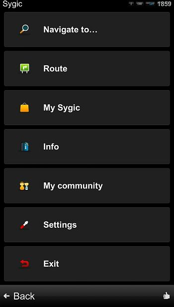 Sygic & MapmyIndia GPS for Android Review