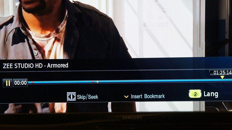 Videocon d2h HD-DVR Review