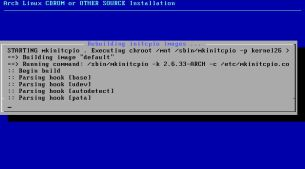 Arch Linux screenshot