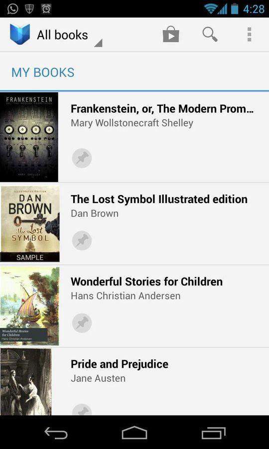 Google Play Books First Impressions Digit