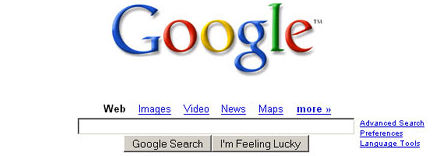 Google.com search