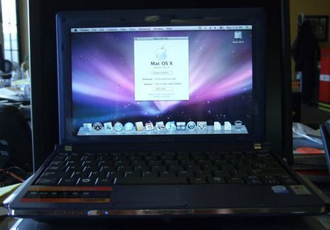 Hackintosh netbook