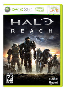 Halo Reach box art