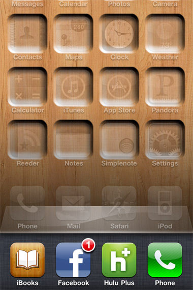 iPhone Tray