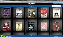 ie9 amazon bookshelf demo