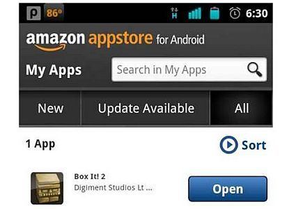 Amazon silently rolls out its Appstore for Android outside