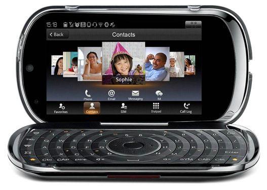 Lenovo LePhone - Android 2 1, QWERTY keyboard, AMOLED screen