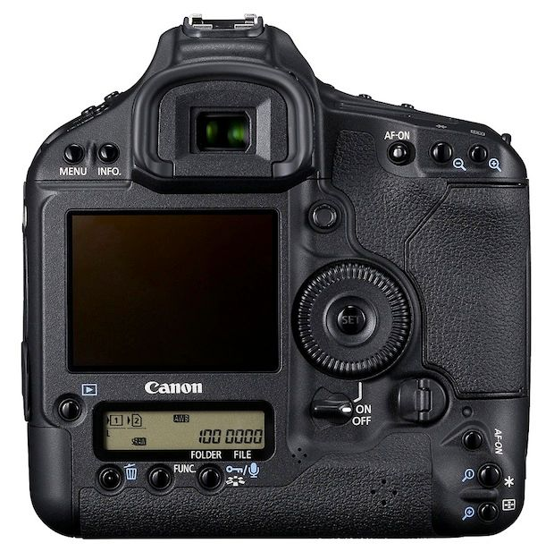 Canon EOS 1D Mark 4 rear