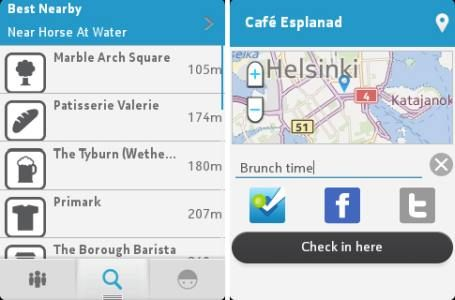 Foursquare now available for Nokia's S40 phones | Digit