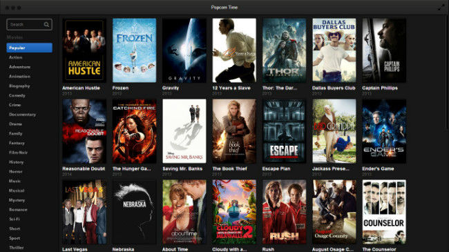 Download Popcorn Time Windows 10