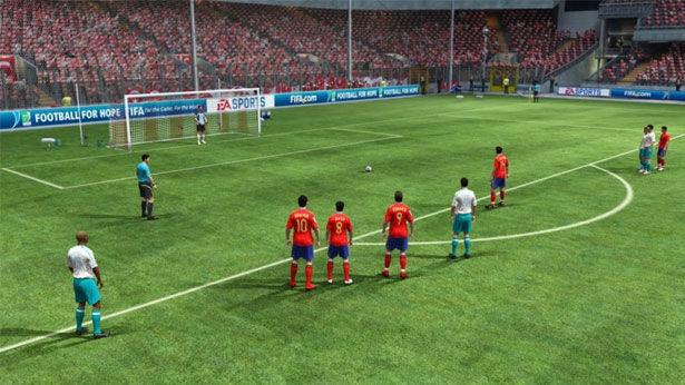 2010 FIFA World Cup South Africa screenshot