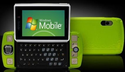 Windows Mobile Project Pink Sidekick phone