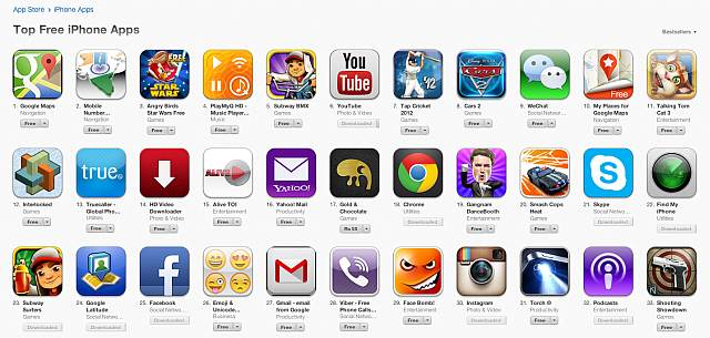 most popular iphone apps maps becomes most popular ios app 7 hours after 2680