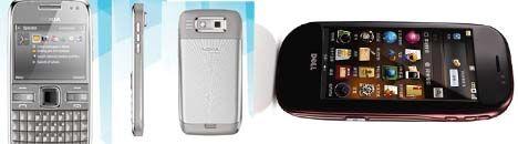 Dell mini 3i, Nokia E72