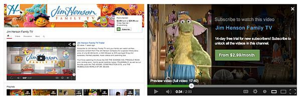 YouTube paid video subscription service officially ...