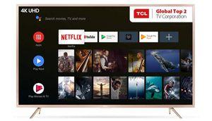 ಟಿಸಿಎಲ್ 55 Inches 4K UHD LED Smart ಆ್ಯಂಡ್ರಾಯ್ಡ್ TV L55P2MUS