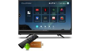 CloudWalker 60cm (23.6 inch) HD Ready LED टीवी  (CLOUD TV24AH)