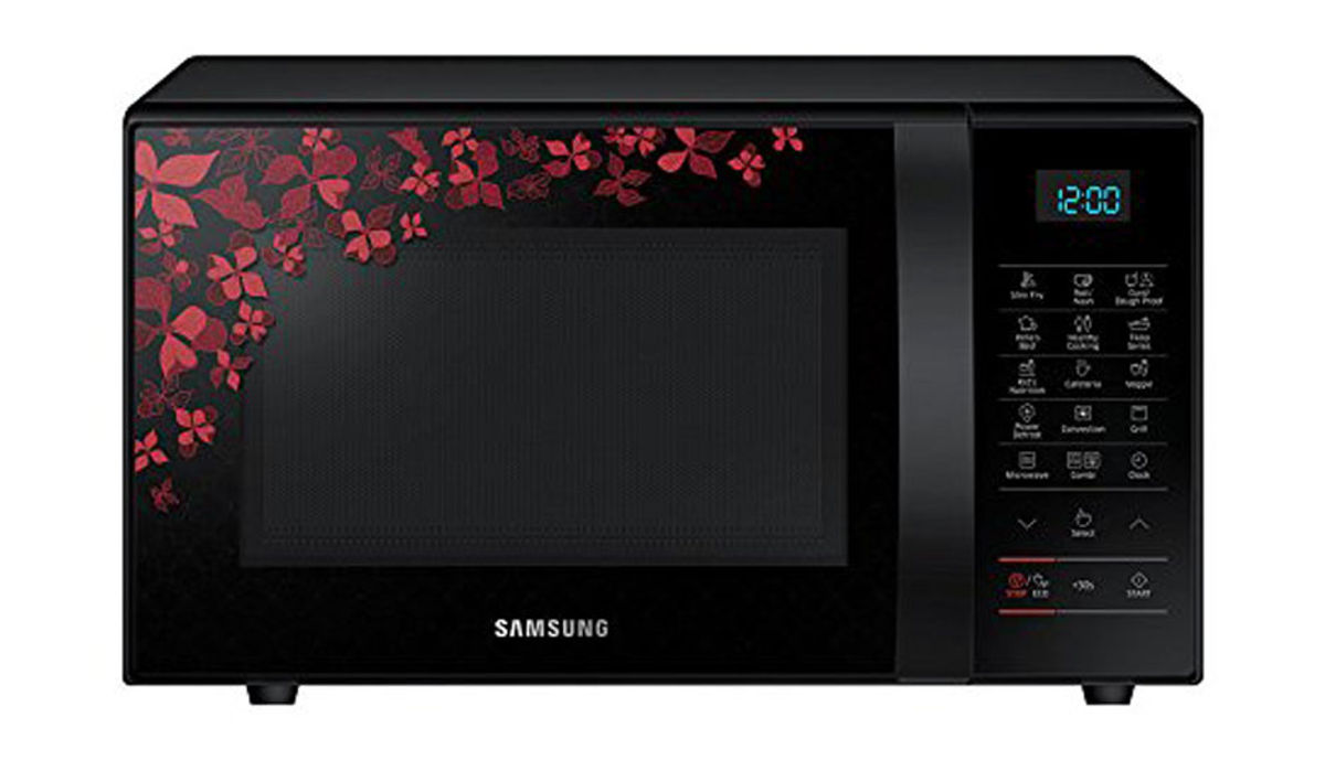 Samsung 21 L Convection Microwave Oven (CE77JD-SB/XTL)