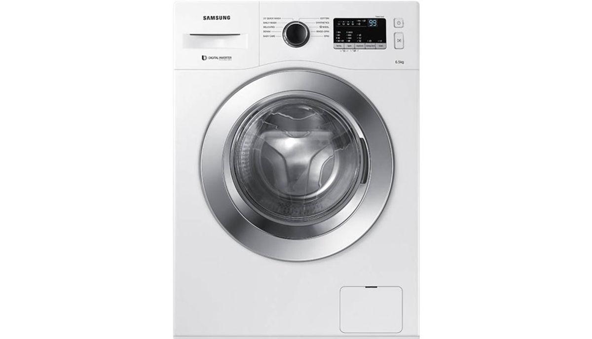 சேம்சங் 6.5  Fully Automatic Front Load Washing Machine White (WW65M206L0W/TL)