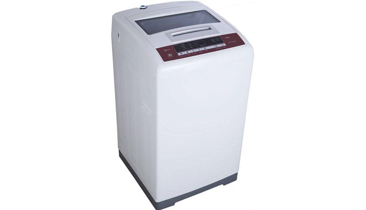 Carrier Midea 6.2  Fully Automatic महत्त्वाचे Load Washing Machine (MWMTL062M31)