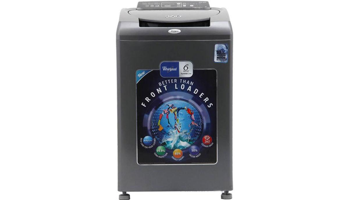 व्हर्लपूल 8  Fully Automatic महत्त्वाचे Load Washing Machine (Bloom Wash 360ï¾° World Series 80H)