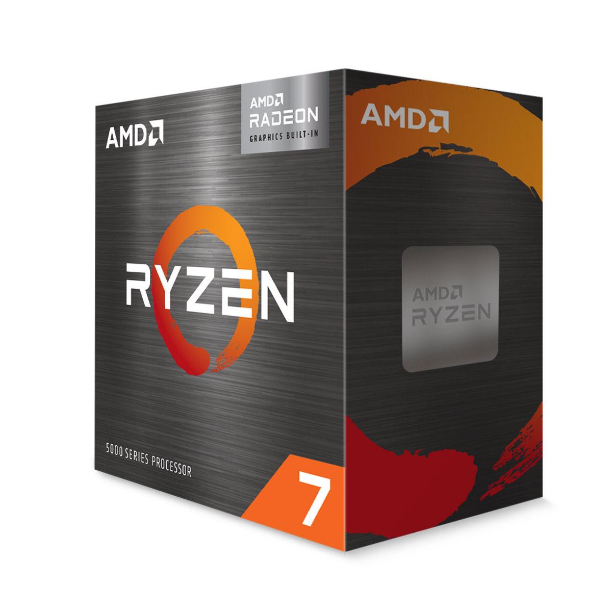 एम्ड Ryzen 7 5700G Desktop प्रोसेसर with integrated Radeon Graphics