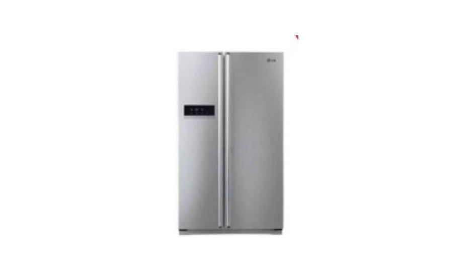 lg gc b207glqv pv pz 581 l side by side refrigerator price in india specification features. Black Bedroom Furniture Sets. Home Design Ideas