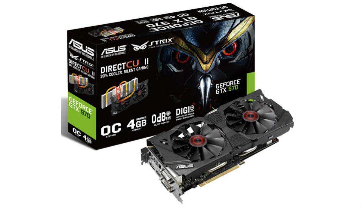 एसस Strix GeForce GTX970