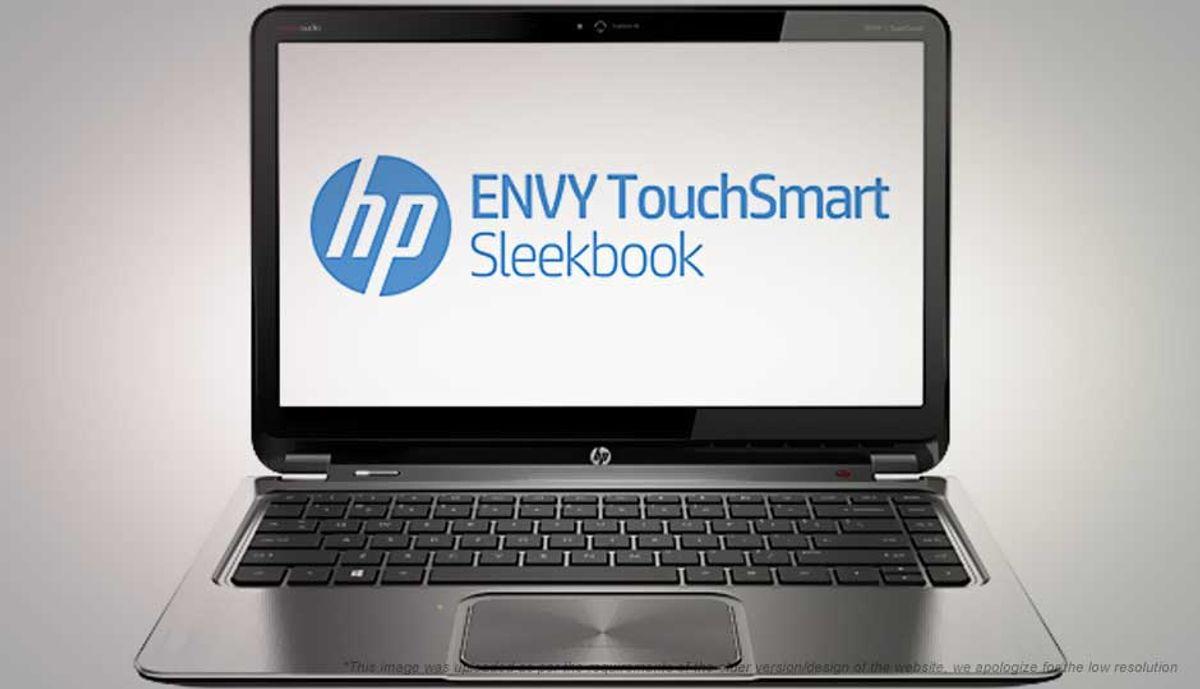 HP ENVY TouchSmart 4-1245tu Sleekbook